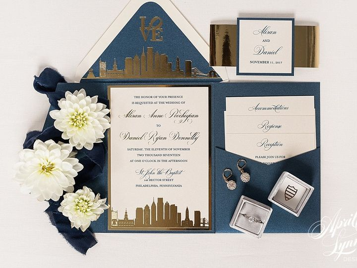 Tmx 1510939962604 Carlyfullerphotography 4 4214 Langhorne, Pennsylvania wedding invitation