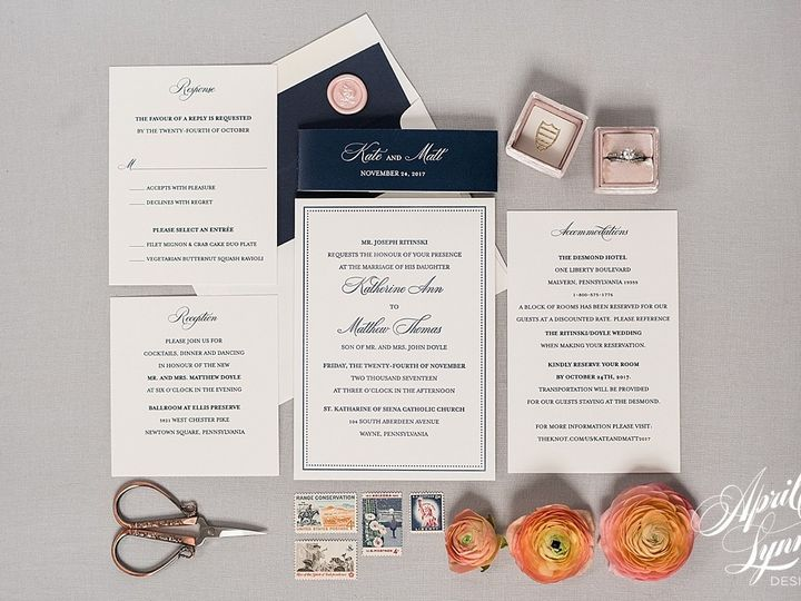 Tmx 1510939978796 Carlyfullerphotography 4 4253 Langhorne, Pennsylvania wedding invitation