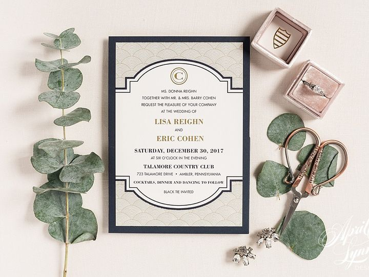 Tmx 1510940041392 Carlyfullerphotography 4 4425 Langhorne, Pennsylvania wedding invitation