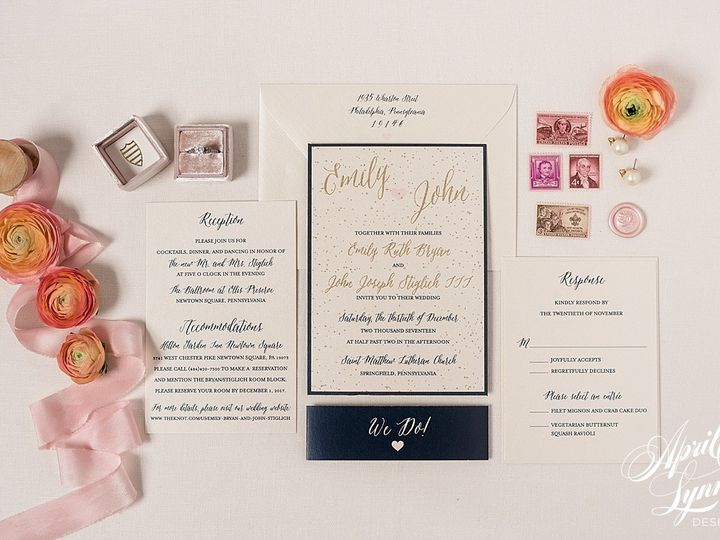 Tmx 1510940082115 Carlyfullerphotography 4 4524 Langhorne, Pennsylvania wedding invitation