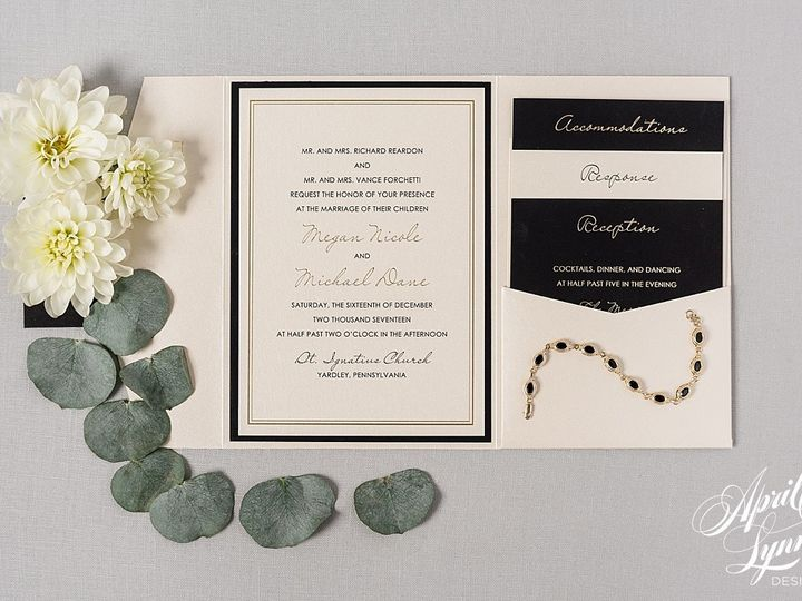 Tmx 1510940089752 Carlyfullerphotography 4 4550 Langhorne, Pennsylvania wedding invitation