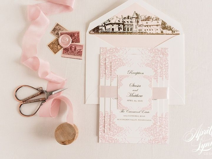 Tmx 1510940168684 Carlyfullerphotography 7614 Langhorne, Pennsylvania wedding invitation