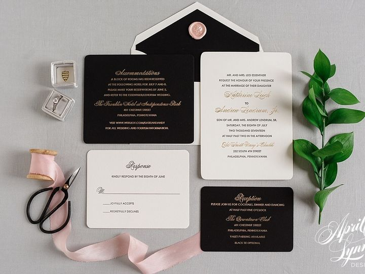 Tmx 1510940175610 Carlyfullerphotography 7740 Langhorne, Pennsylvania wedding invitation