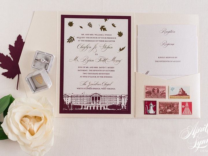 Tmx 1510940223086 Carlyfullerphotography 8301 Langhorne, Pennsylvania wedding invitation