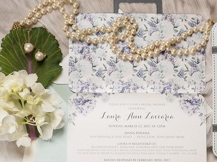Tmx 1511189320750 Aprillynndesignslaurajasnapolanarustictravelsuitca Langhorne, Pennsylvania wedding invitation