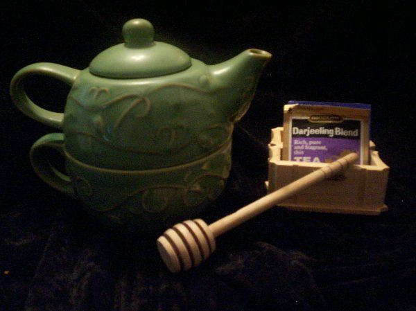 Personal Teapot for a bridal shower with tea.