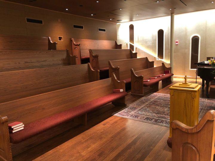 Marble Chapel- Seats 50