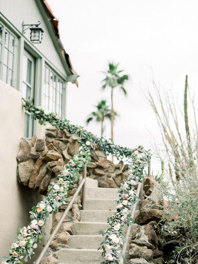 Brides staircase entrance