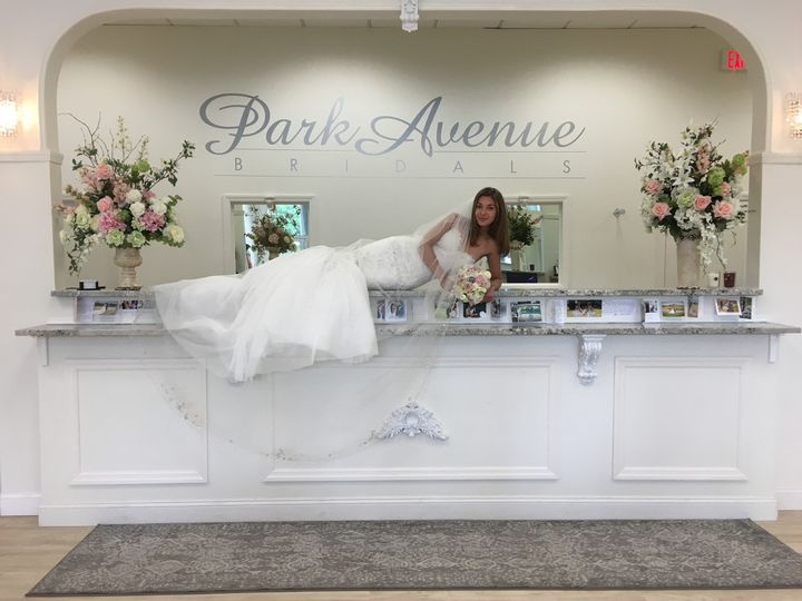 Bride on the counter