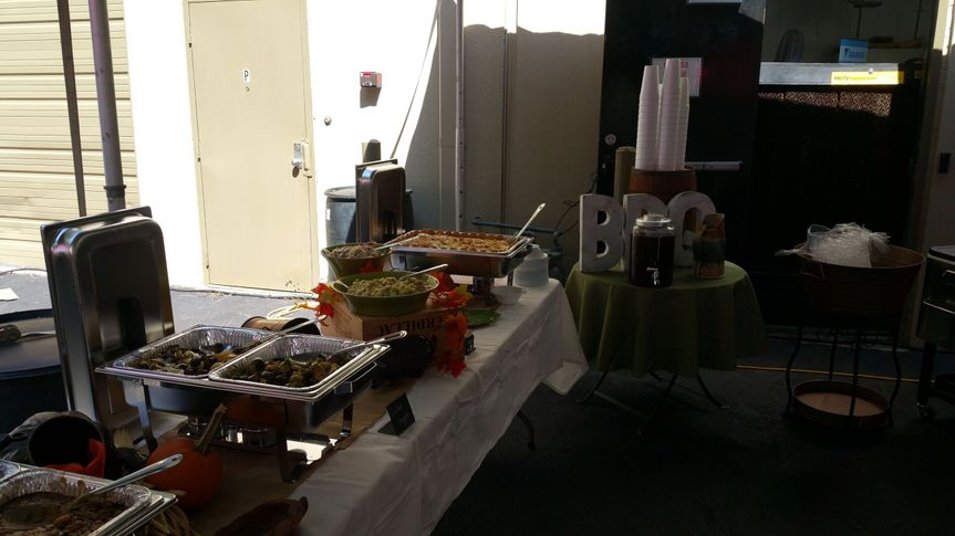 Serving setup
