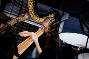 Brittany Burns, Harpist