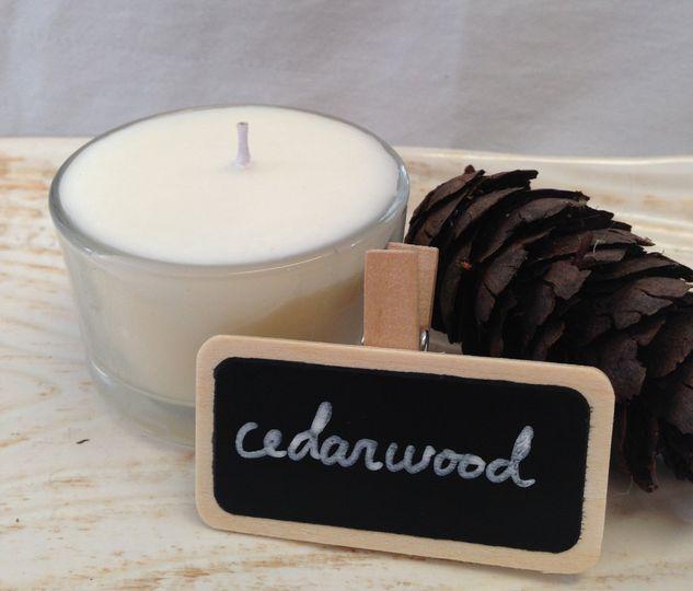 Cedarwood tealight