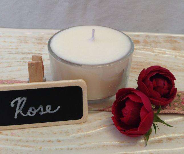 Rose tealight