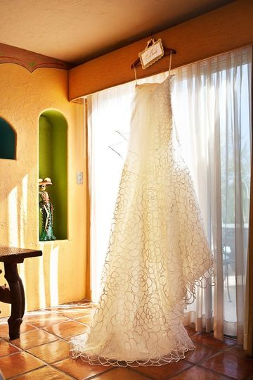 Hanging gowns