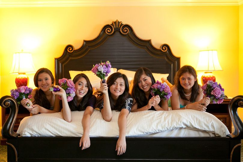 Bed of Bridesmaids