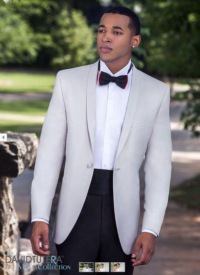 Single Breasted One Button Shawl Dinner jacket By, DAVID TUTERA SLIM FIT