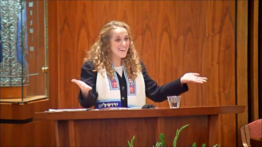Giving a sermon