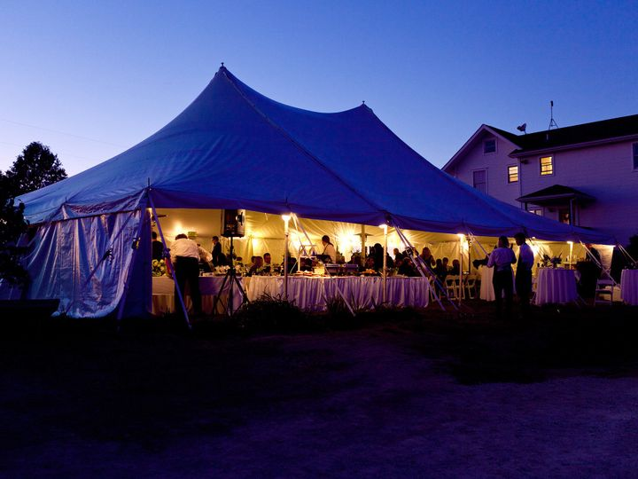 Tmx 1465497201916 40ft X 60ft Elite Rope And Pole Wedding Tent Iowa City wedding rental