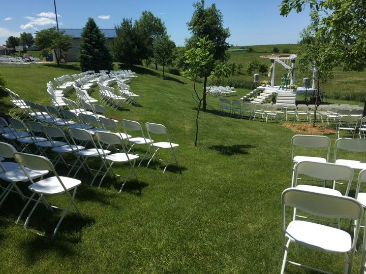 Tmx 1465497349840 Outdoor Wedding At Highpoint City Church With Chai Iowa City wedding rental