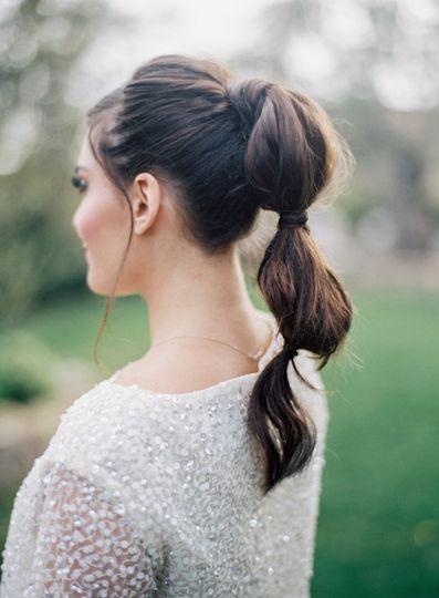 Horse tail hair