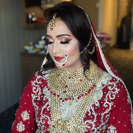 Beautiful Bride Full Glam