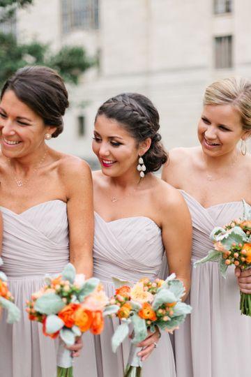 organic bridesmaic
