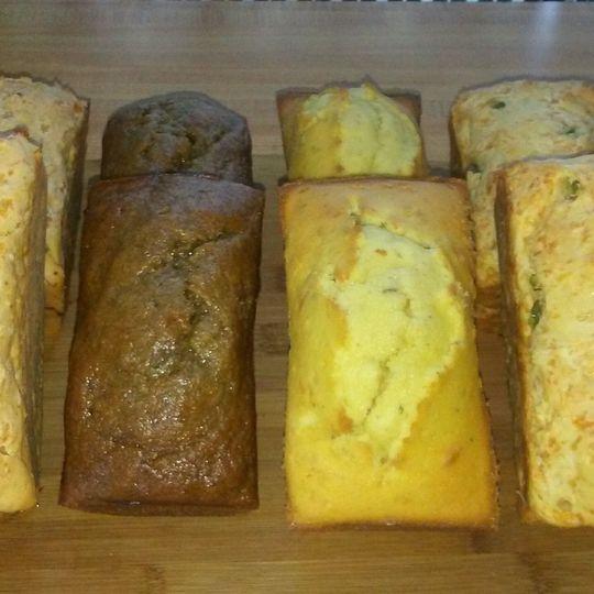 Variety Mini Breads      Variety Muffins