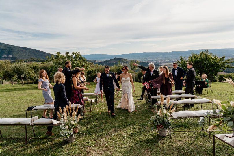 Destination Wedding in Assisi