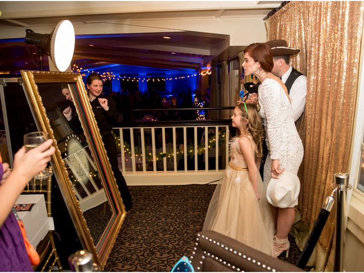 Tmx 1519482490 30f36b6910f5c280 1519482489 1e0ac85c5ab42ff7 1519482489761 9 Mirror Booth Pic 3 Brookfield, CT wedding dj