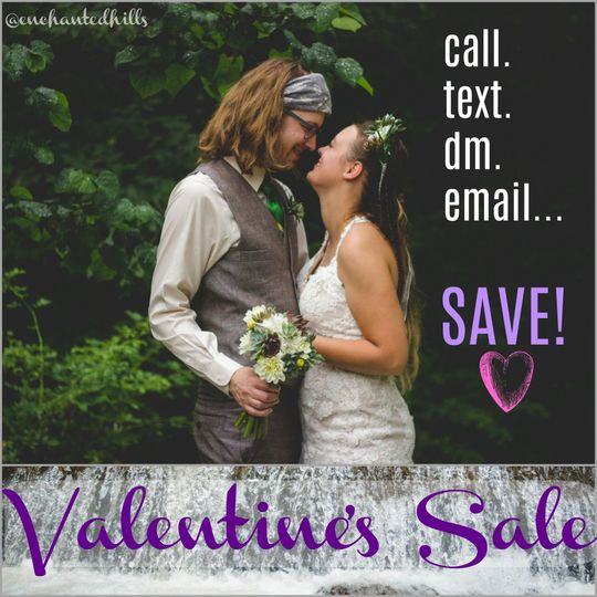 Ask about our V-day Sale!