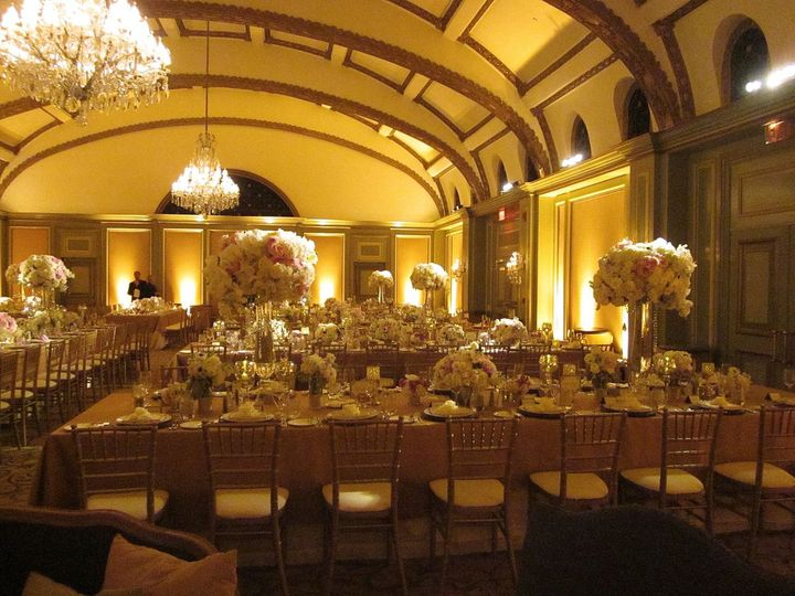Wedding Reception Viennese Ballroom Langham Hotel Pasadena - Elegant Music 626-797-1795