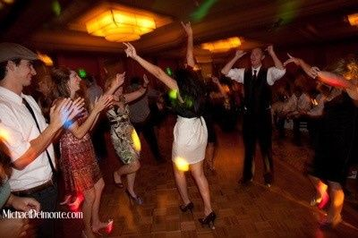 Newport Beach Marriott Wedding Reception Dancers - DJ/MC Eric Zimmermann Elegant Music 626-797-1795