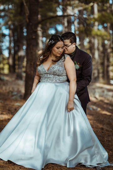Winter Wedding in the Woods