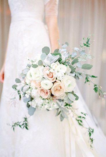Floral arrangement in venue