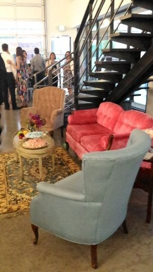 Eclectic seating areas