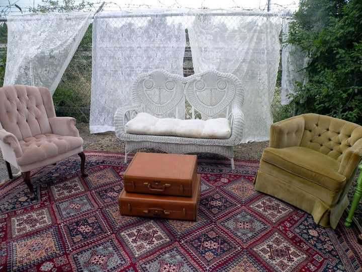Seating areas anywhere