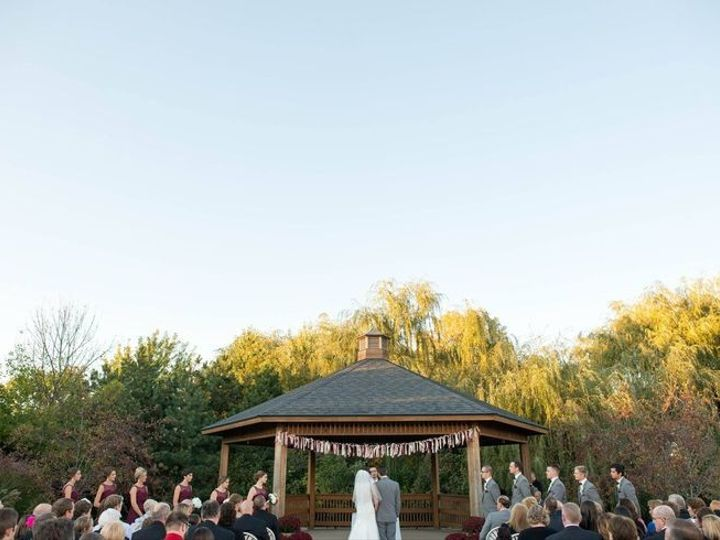 Tmx 1437592189853 West Gazebo With Country Style Banner Merrillville, IN wedding venue