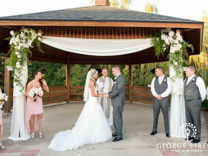 Tmx 1439407216575 West Gazebo Ceremony Merrillville, IN wedding venue