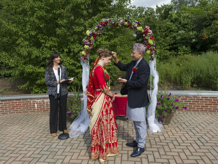 Tmx 1508846001445 Dianne And Binaya 178 Northampton, MA wedding officiant