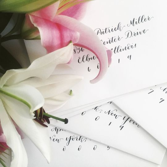Elegant writing