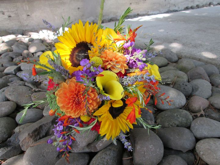 Mixed wildflower bouquet