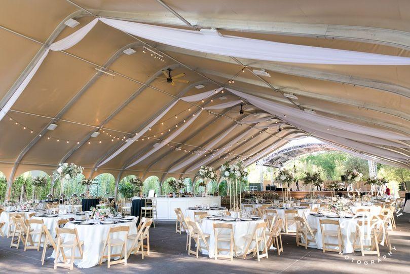 Wedding reception - Photo by Tracy Autem