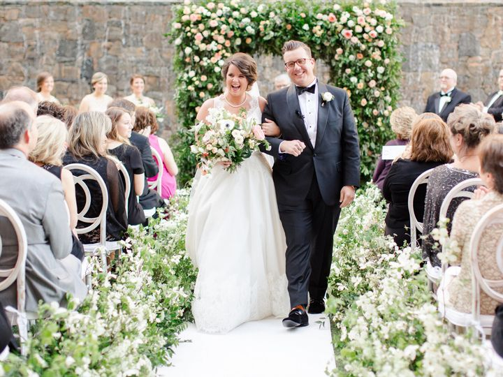 Wedding in downtown Greenville featured on Martha Stewart Weddings