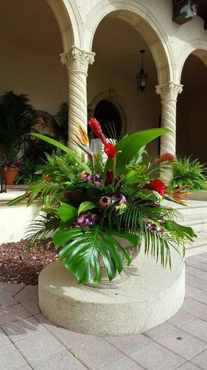 Add a tropical touch