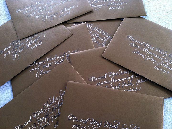 Tmx 1429751998436 Brown Burgues Crystal Lake wedding invitation