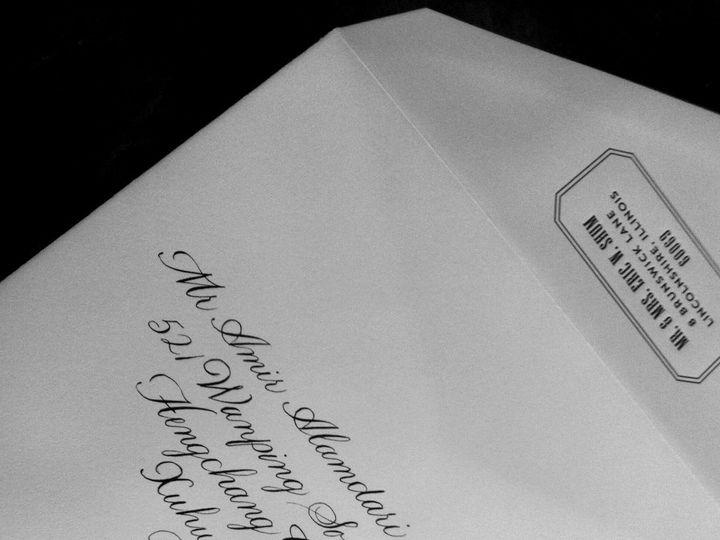 Tmx 1429752863753 Bickham 2 Crystal Lake wedding invitation