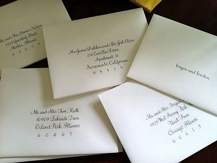 Tmx 1429753138049 Feel Script Crystal Lake wedding invitation