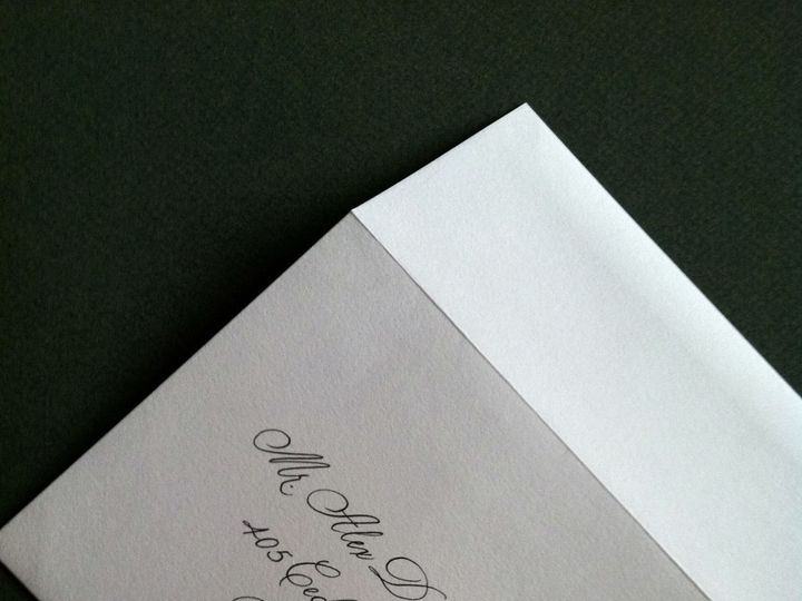 Tmx 1429753360204 Monoline Script Crystal Lake wedding invitation
