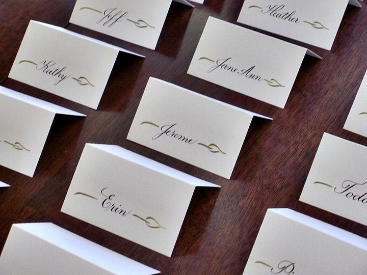 Tmx 1430012017301 Leaf Placecards 3 Crystal Lake wedding invitation