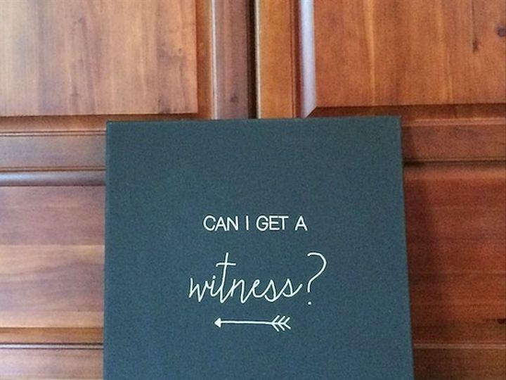 Tmx 1432642212900 Can I Get A Witness Crystal Lake wedding invitation